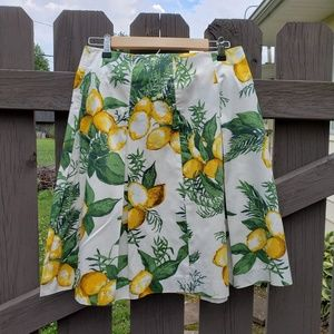 Talbots Size 4P Fully Lined Skirt Zips Up Back